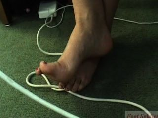 All Consuming (candid Closeup Feet And Soles)