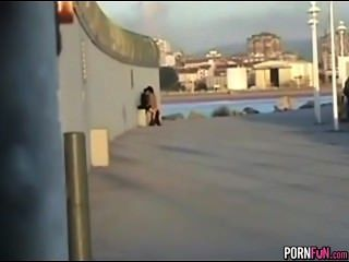 Crazy Horny Teens Fuck In Public