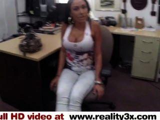 Real Spycam Sex - Big Titty Latina Is A Slut For Some Cash - Reality3x.com