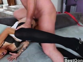 Masked Slut Assfuck After The Party