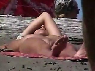 Beach Voyeurs Spying Nudists