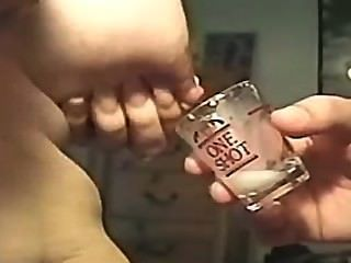 Lactating In A Shot Glass (requested)