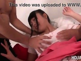 Japanese Cute Doll Gets Boobs And Cunt Teased Japan-adult.com/pornh