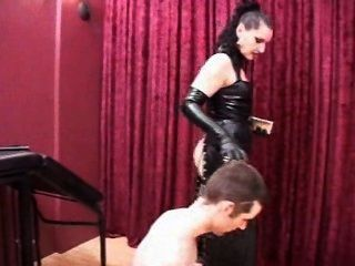 Mistress Sivia - Evil Mistress Smoking And Ass Licking In Latex