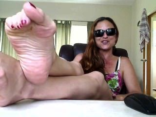 Addressing Longer Worn Socks, Soles, Wiggling Toes Video Inquires
