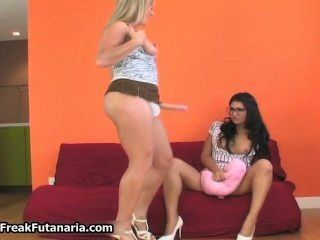 Busty Blonde And Brunette Babes Get Part5
