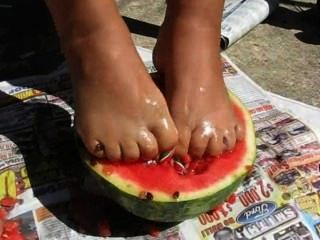 Watermellon Feet