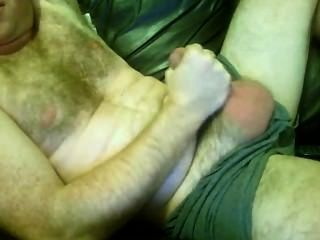 Hairy Horny Married Dad Wanks