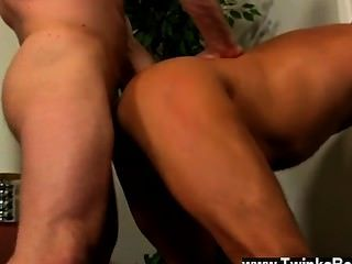 Gay Clip Of After A Day At The Office, Brian Is Need Of Some Daddy Dick,