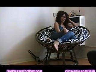 Licking Feet Lissa