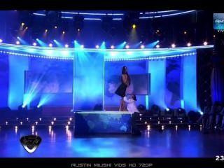striptease in tv