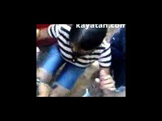 Very Sexy Malaysian Teen Gives Blowjob