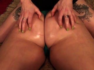 Ass Tickling