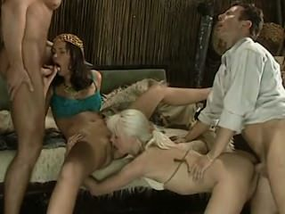 Egypt Fucking Vacation - Angelica Mirai And Sandra Dark Foursome