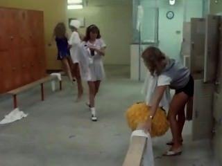 Topless Cheerleaders In Hollywood Movie