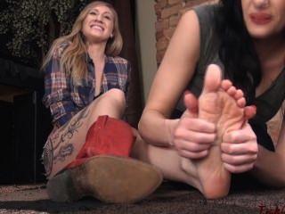Ticklish Cowgirl