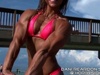 Dani Reardon At The Beach
