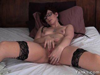 Pierced Amateur Ruby Masturbating