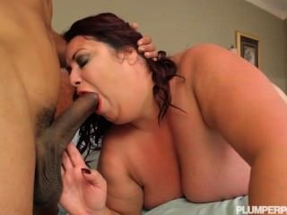 French mature takes 2 cumshots and facial in her face 9