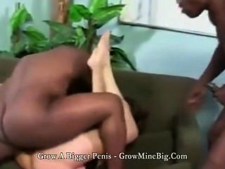 Curvy Slut Fucked In The Pussy And Mouth By Bbc