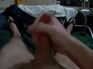 Amateur Pov Jerking Off On A Bed