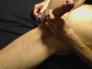 Private sex cumshot