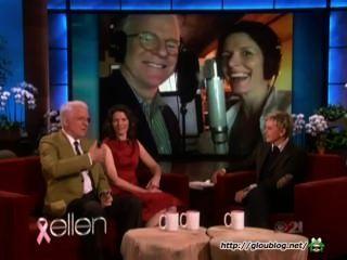 ❤steve Martin On The Ellen Show 10/09/13❤