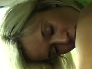Teen Masturbating In Car