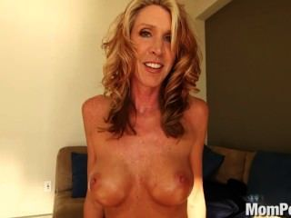 Sexy Blonde Milf Wants Young Cock.