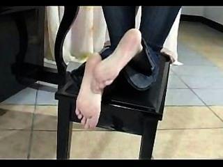 Chinese Foot Rubing And Posing