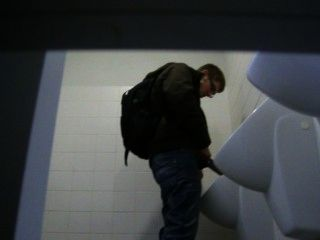 Guy Caught Pissing At University