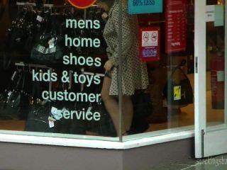 Stockings Babe Xxx Uk Semed Stockings In Public