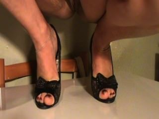 Feet Mature My Wife In Shoes