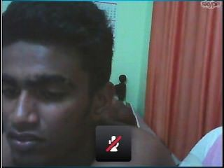 Ebin Francis Kurishingal & His Friend Having Fun On Cam