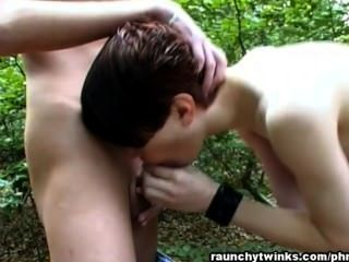 A Hot Outdoor Blowjob