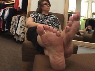 Foot nasty sex zungengepiercten