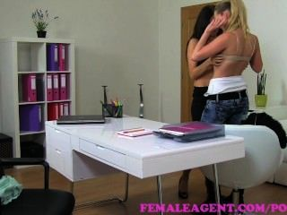 Femaleagent. The Job Is Yours If You Let Me Do What I Want
