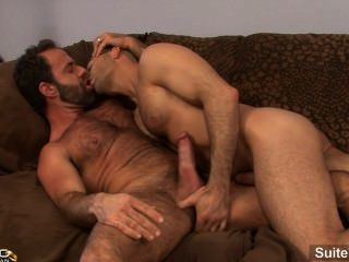 Lustful Married Guy Adam Russo Gets Nailed By A Horny Gay Dodger Wolf
