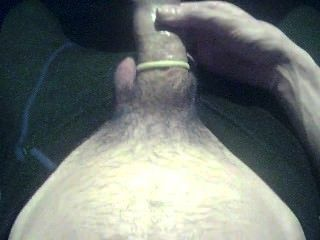 Big Dick Huge Cock Large Penis Amateur Condom Jerking Fun