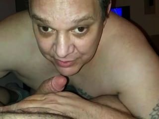 Love Sucking This Cock