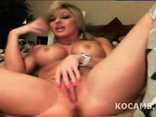 Horny Amateur Blonde Milf Masturbate Pussy