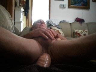 Humping This Huge Cock While You Watch