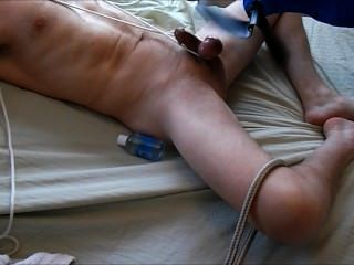 Machine Paddled Balls To Hands Free Cum Cbt