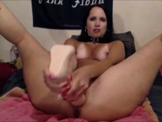 Tina Tigue Giant Dildo Slut