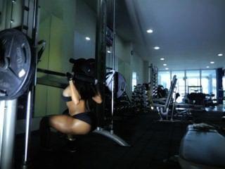 Alejandra Gil Sweat Session