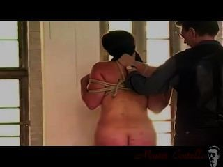 Girl Gets Tortured Bu Nettles And Spanking Then Fucked With Stick