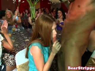 Redhead Amateur Cocksucking At Cfnm Party