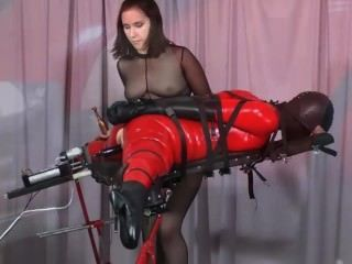 Bondage hentai with bigboobed gets licked her 10