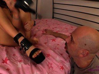 Pervert Foot Slave