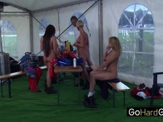 Horny At The Racetrack Part 1 Blondes Driving Nikky Thorne Alison Star